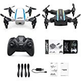 Beyondsky JJRC H345 Foldable RC Drone Dual-Aircraft Combination Micro 2.4Hz Foldable Drone Set JJRCI White & JJRCII Black Mini Quadcopter with Remote Controller H42 (H345)
