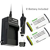 Kastar Battery (2-Pack) and Charger Kit for Kodak KLIC-8000, K8000 work with Kodak Z1012 IS, Z1015 IS, Z1085 IS, Z1485 IS, Z612, Z712 IS, Z812 IS, Z8612 IS Cameras