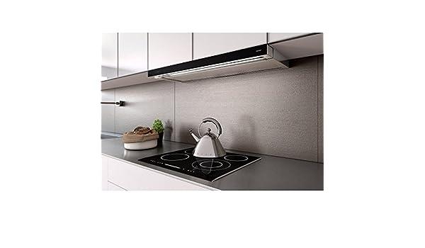 Berbel BEH 90 GL 1005513 Glassline - Campana extractora, color negro: Amazon.es: Grandes electrodomésticos