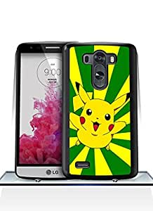 LG G3 Durable Funda Case - Game Pokemon Creative [Dust-Proof] Anti Slip Funda Case With [Extra Slim] for LG G3 - By Ckholy