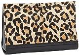 The SAK Iris Demi Clutch,Black Leopard,One Size, Bags Central