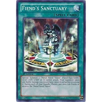 Yu-Gi-Oh! - Fiend's Sanctuary (BP01-EN076) - Battle Pack: Epic Dawn - 1st  Edition - Common
