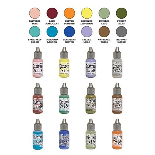 Ranger Tim Holtz Distress Oxide Reinker Set Of 12 - Winter 2018 by Tim Holtz