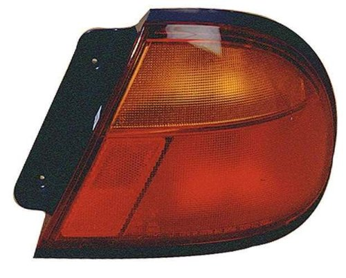 Depo 316-1917R-US Mazda Tribute Passenger Side Replacement Taillight Unit without Bulb