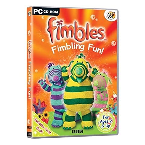 Fimbles Fimbling Fun! (PC-CD) For Kids Ages 2 and Up. (Educational Software)