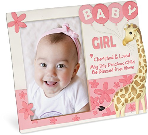 Angelstar 13154 Cherished Blessings Girl Photo Frame, 8-1/4 x 7