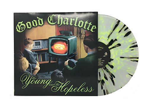 Good Charlotte - The Young And The Hopeless (Limited Edition Clear With Black And Lime Green Splatter Colored Vinyl) - Zortam Music