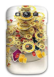 Fashion Tpu Case For Galaxy S3- Vector Defender Case Cover