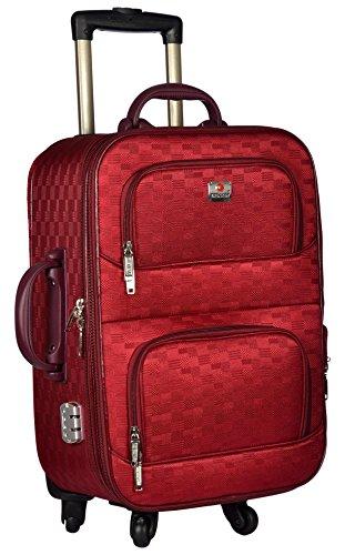 Trekker Polyester Matty 50 cms Red Softsided Cabin Bag  TTB PEARL204 RED