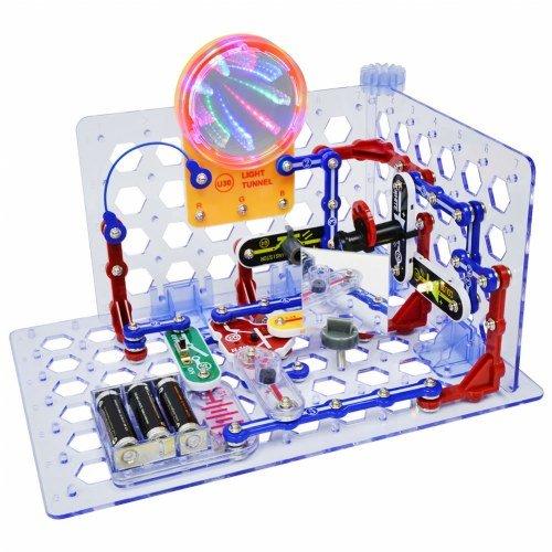 Snap Circuits 3D Illumination Electronics Discovery Kit - NEW for 2016 (Electronic Snap Circuits compare prices)
