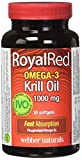 Best Omega 3 Pharmaceuticals - Webber Naturals Royalred omega-3 krill oil 1000 mg Review