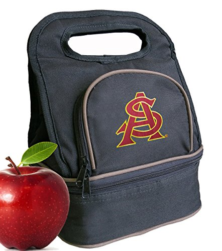 Bag ASU Sun Devils Lunch Box - 2 Sections! (Devils Lunch Box)