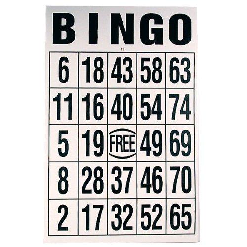 (Gigantic Laminated Bingo Card )