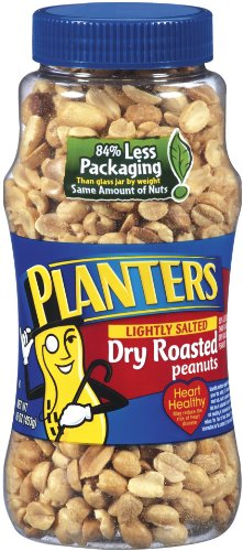 029000076501 - Planters Dry Roasted Peanuts Lightly Salted 16 oz (Pack of 12) carousel main 0