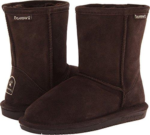 Sheepskin Boot Faux - BEARPAW Emma 6.5 Inch Boot (Little Kid/Big Kid),Chocolate II,3 M US Little Kid