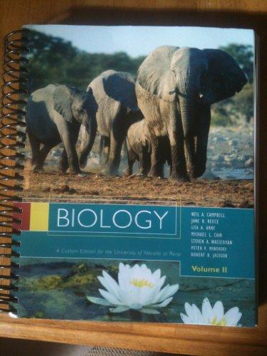 Biology Volume II (Custom Edition for the University of Nevada Reno)