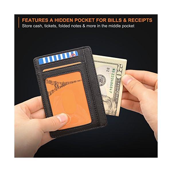 RFID Blocking Wallet For Men Women