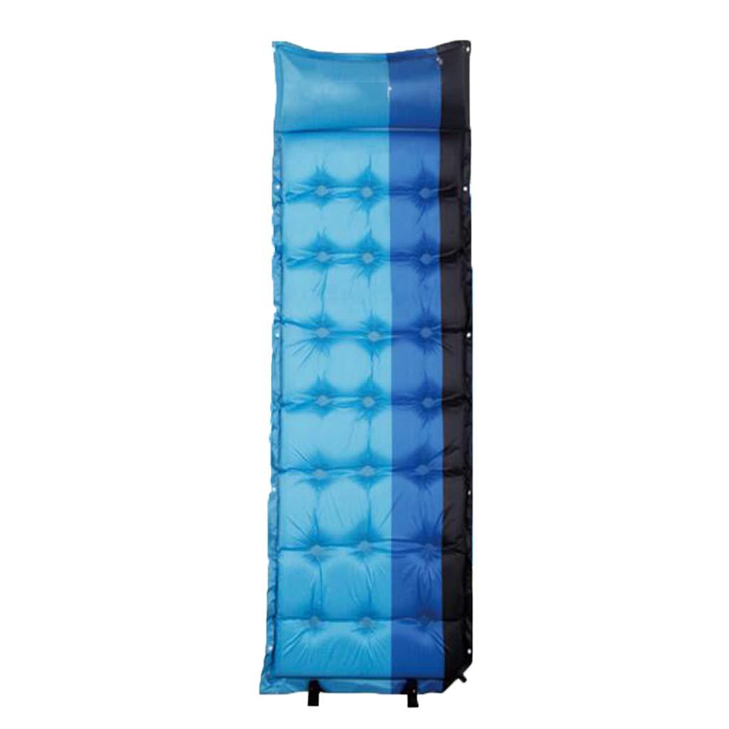 LYLLB-Air bed Automatische Aufblasbare Kissen Feuchtigkeit Pad Single Schlaf Pad Indoor Outdoor Einfache Mode 180x62 cm