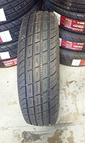 Two Gladiator 20575R14 ST 205/75R14 STEEL BELTED REINFORCED Trailer Truck Tire 8 Ply 8pr 14 Inch 14 '' ST205 75R R14 Load Range D LRD Pair by Gladiator (Image #1)