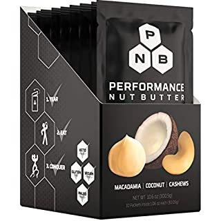 Performance Nut Butter Macadamia, Coconut and Cashew Nut Butter Keto, Paleo and Vegan Friendly Low Carb Healthy Fat Bomb Plant Based Ketogenic & Whole 30 Approved Snack