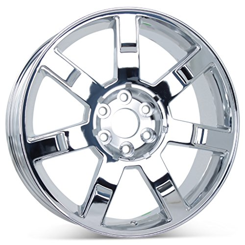 "New 22"" x 9"" Replacement Wheel for Cadillac Escalade 2007-2013 Rim Chrome 5309"