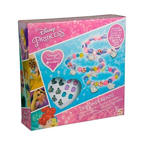 Sambro - Princesas Disney Pack para Hacer Pulseras Y Figura Goma De Borrar 3D, Color Rosa (DSP-2021-6260)