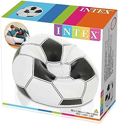 Intex 68557NP - Sillón hinchable, 108 x 110 x 66 cm