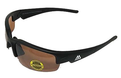 d2f785957f Amazon.com  Maxx Sunglasses 2018 Dynasty 2.0 LT Black Amber HD ...