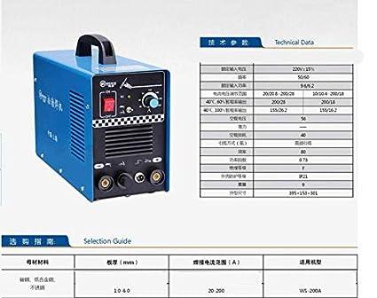 GOWE 220 V dc Inverter argon para soldadura por arco eléctrico/manual soldadura y soldador