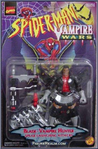 """SPIDERMAN """"BLADE-VAMPIRE HUNTER"""" VAMPIRE WARS MOC FROM 1996"""