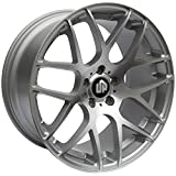 """19"""" UP720 Staggered Wheels Set fits BMW in Silver Machine..."""