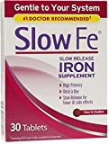 Slow Fe Slow Release Iron, Tablets 30 ea (Pack of 10)