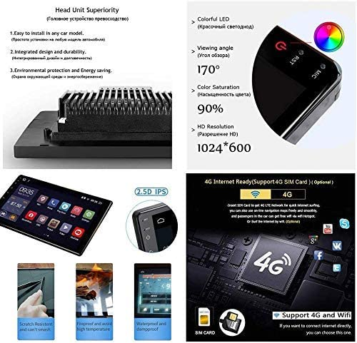 pour Ford Fiesta 2012-2017 Miroir Link Commande Volant USB MP5 Bluetooth Hands-Free Calls SWC,4G+WIFI2G+32G DUMXY Android 8.1 GPS Navigation Music Autoradio 9 Tactile /écran Lecteur Multim/édia TV