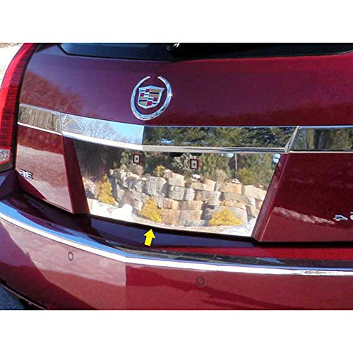 - Chrome License Plate Bezel fits 2010-2011 CTS