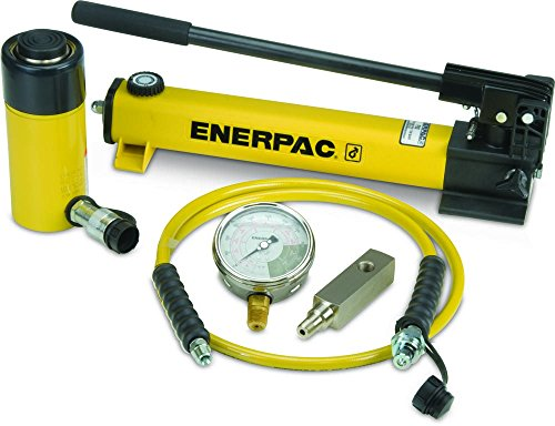 Enerpac SCR-254H Single Acting Cylinder Pump Set RC-254 Cylinder with P-392 Hand Pump by Enerpac