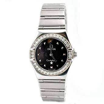 9aaa7da9c63 Amazon.com  Omega Constellation Quartz Female Watch 1465.51.00 (Certified  Pre-Owned)  Omega  Watches