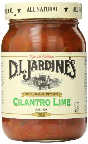 - D.L. Jardine's Cilantro Lime Salsa, Mild, 16 Ounce