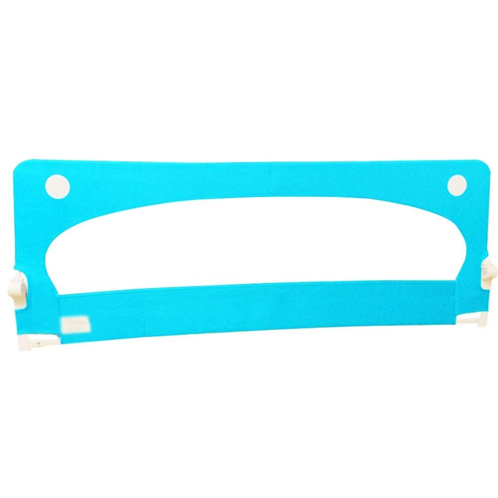 WHAIYAO ベッドレール乳児用安全製品クイックインストール折りたたみ式強力な運搬能力2色2サイズ (Color : Blue, Size : 180x68CM) 180x68CM Blue B07TXHXBSS