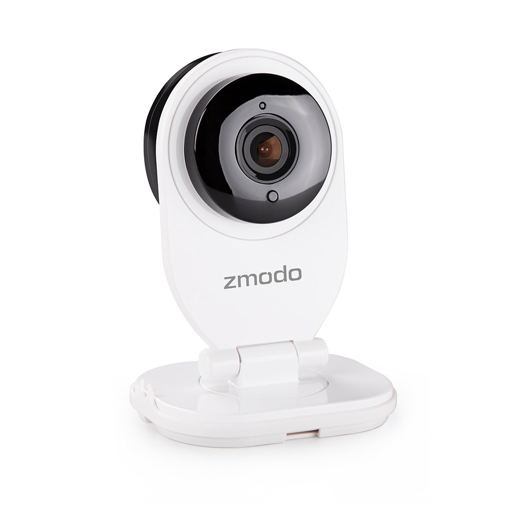Zmodo EZCam 720p WiFi Camera with 2-way Audio & MicroSD Card Slot (SD card not included)