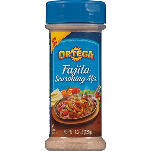 Ortega Seasoning Mix, Reduced Sodium Fajita, 4.3 Ounce ()