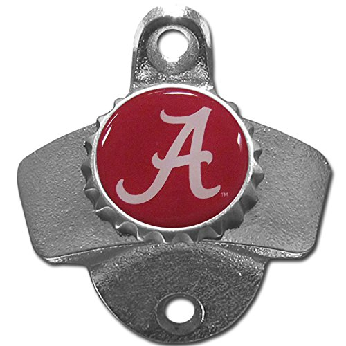 NCAA Alabama Crimson Tide Wall Bottle Opener (Wall Mounted Bottle Openers compare prices)