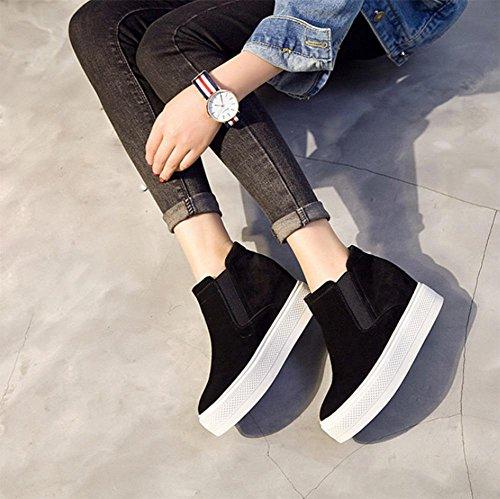 los zapatos del elevador Ms Spring zapatos perezosos mujeres escoge los zapatos de fondo grueso , US8 / EU39 / UK6 / CN39