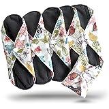 Heart Felt Bamboo Reusable Cloth Menstrual Pad (Pack of 5)