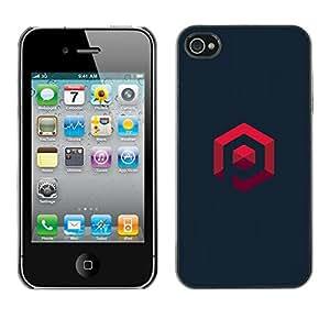 Estuche Cubierta Shell Smartphone estuche protector duro para el teléfono móvil Caso Apple Iphone 4 / 4S / CECELL Phone case / / my own logo /