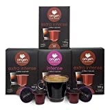 Nespresso Compatible Capsules - 80 Pods Pack - Expresso pods for Nespresso full compatible with Original Line Nespresso Machine, 60 Capsules of Strong Espresso 20 Capsules Medium