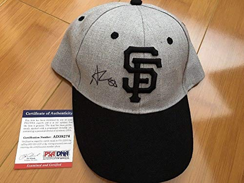 Andres Torres Autographed Signed San Francisco Giants Hat PSA/DNA Dignity Health