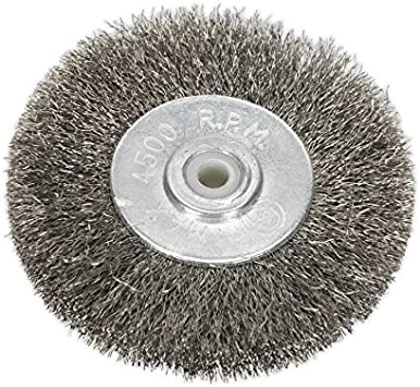Sealey BG1010WW50 Wire Wheel Ø50 x 13 mm 6 mm Bore