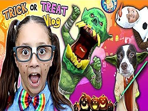Halloween Night With Prank On -