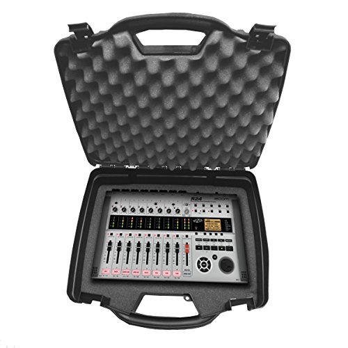 - STUDIOCASE Portable MultiTrack Recorder Controller and Digital Stereo Interface Case works for- ZOOM R16 , R8 , R24 , TAC-2 , Tac-2R , MRS-8 and More