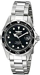 Invicta Men's 17046 Pro Diver Analog Display Japanese Quartz Silver Watch
